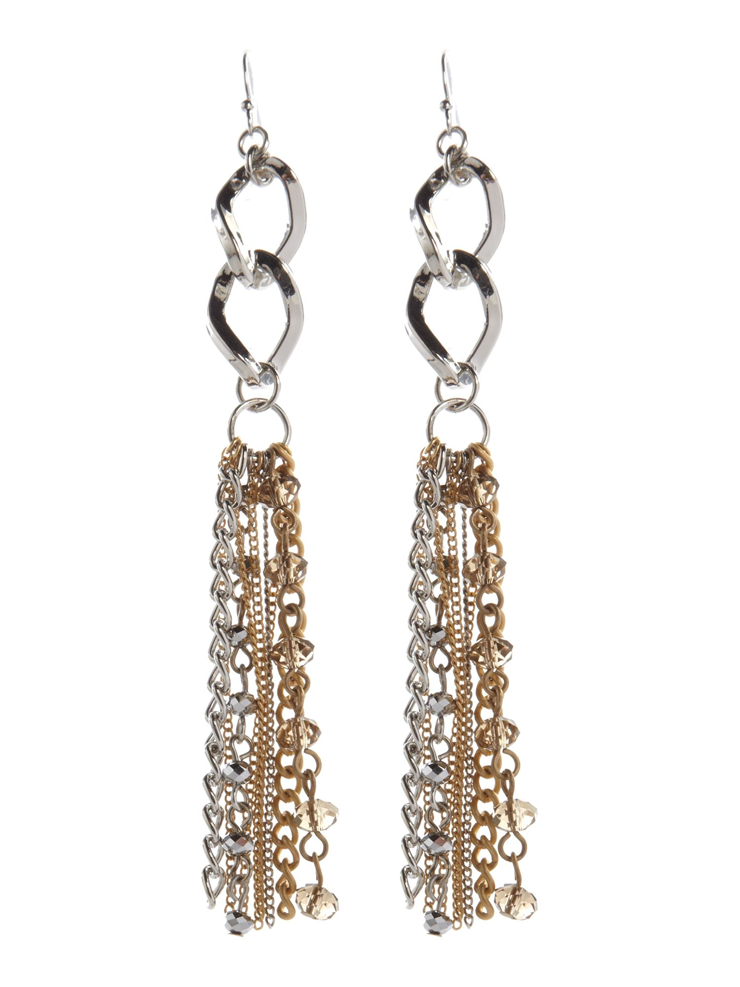 Pied a Terre Mixed metal drop earrings product image
