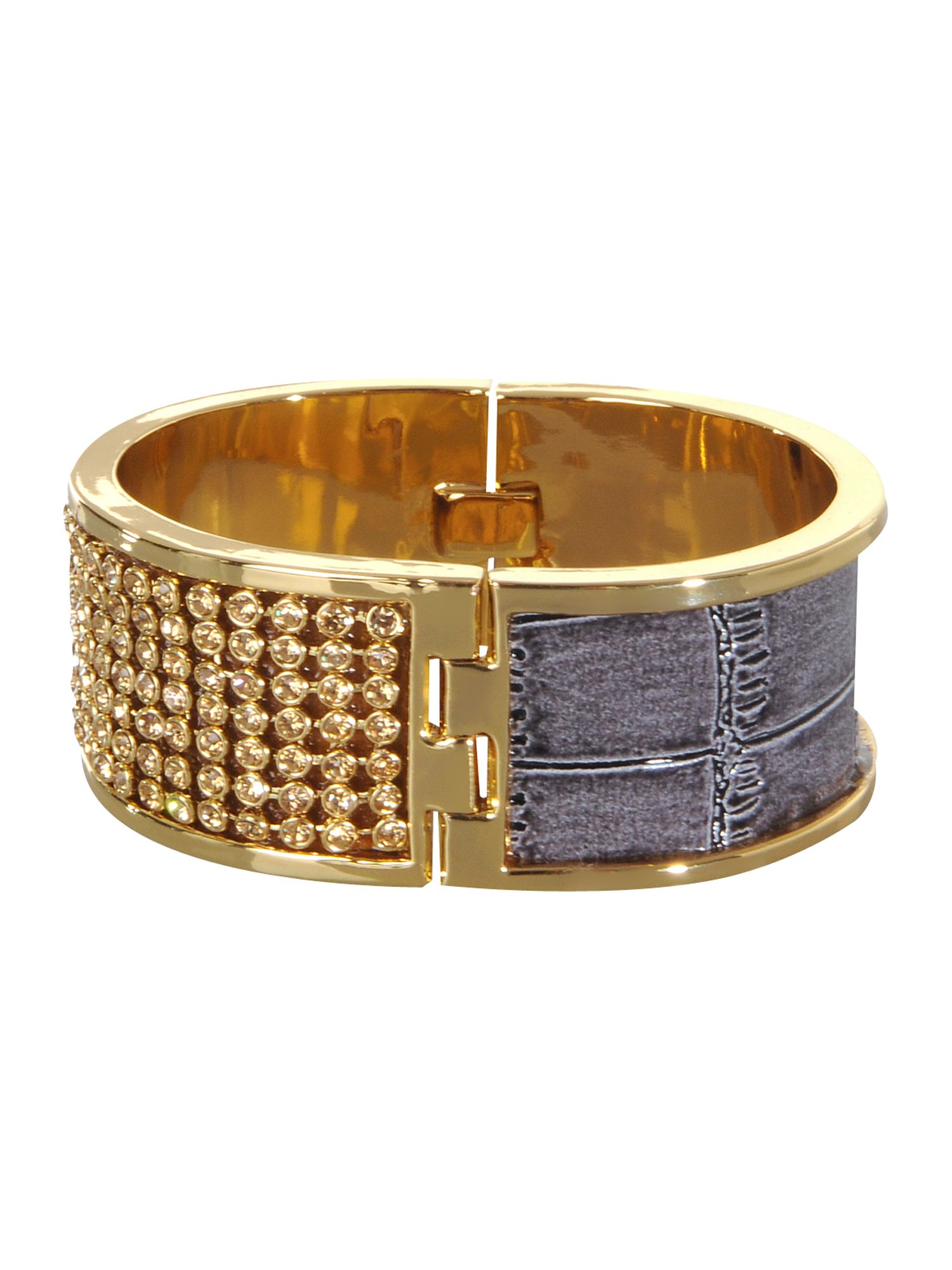 Pied a Terre Pave and leather bangle product image