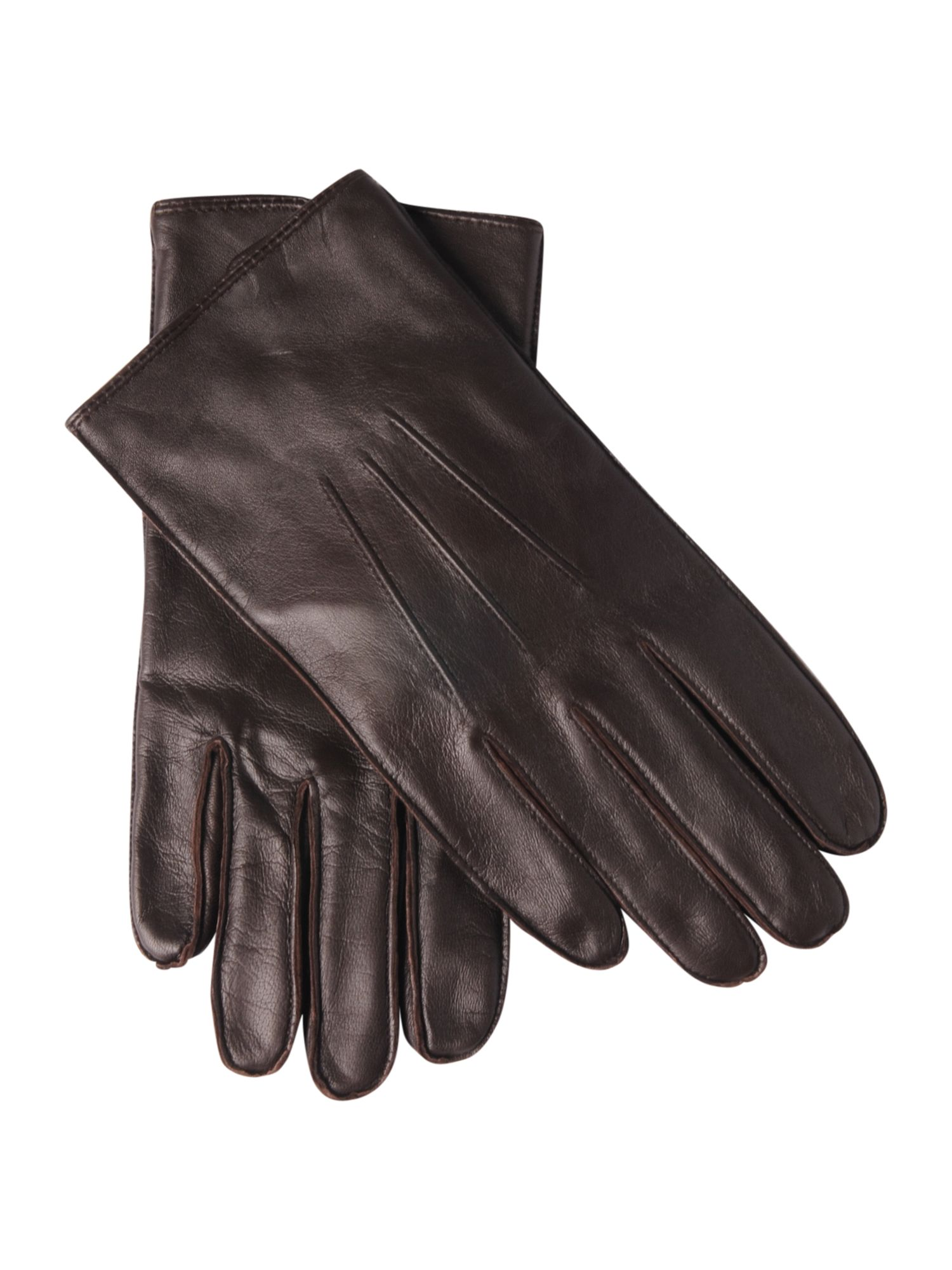 3 point leather gloves