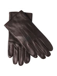 Dents men`s fleece lined leather glove