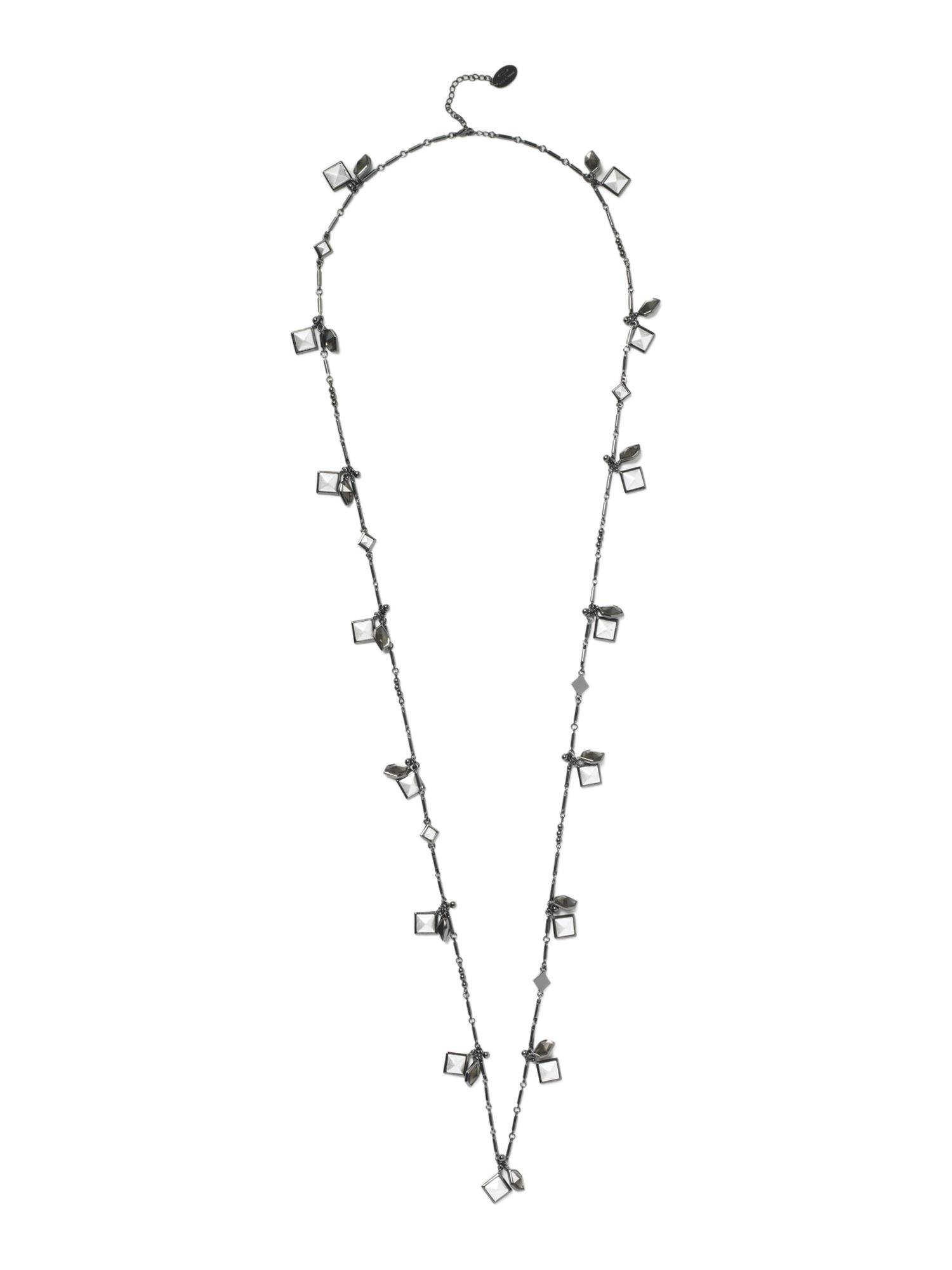 Pied a Terre Pyramid stud long necklace product image