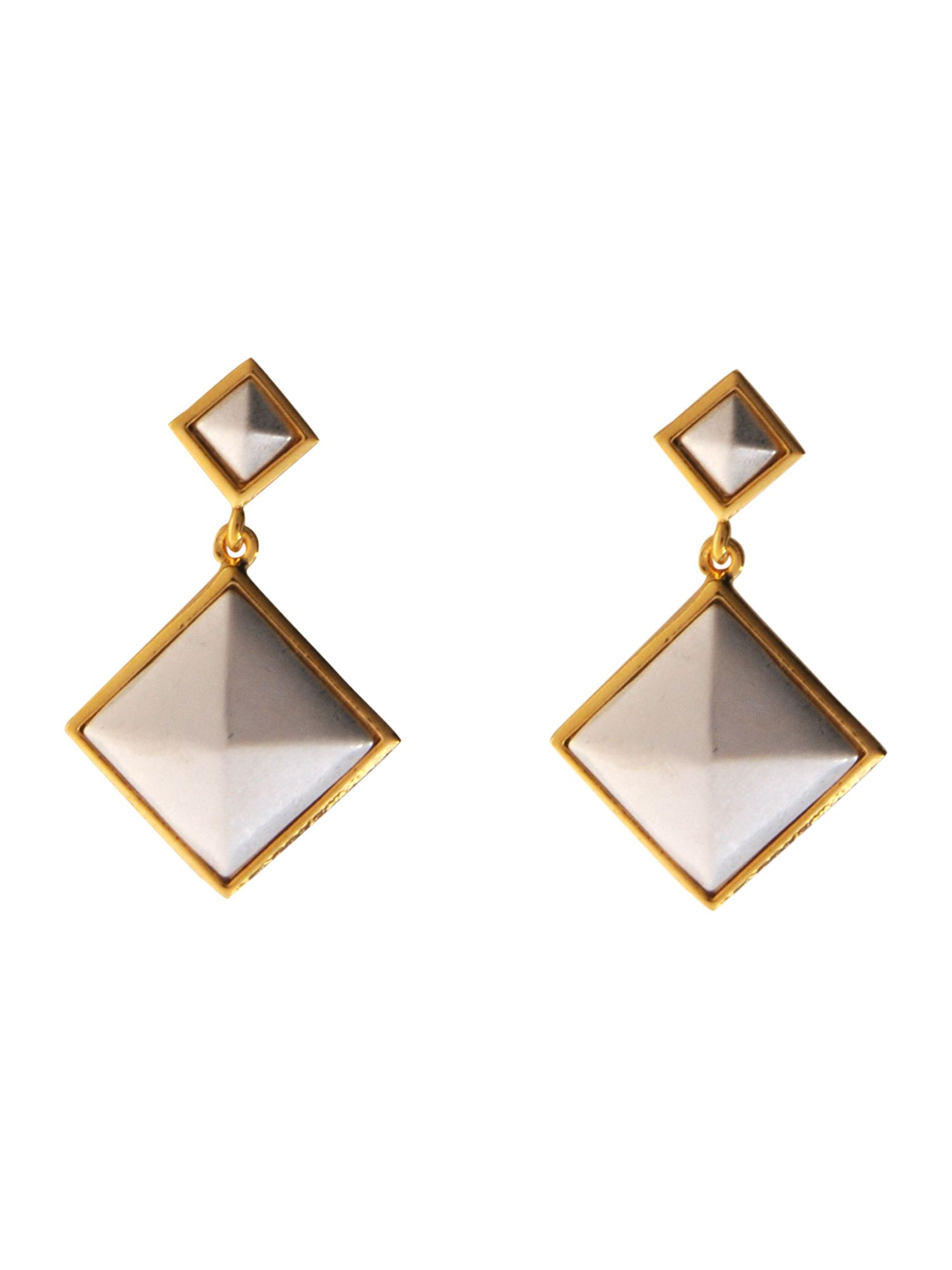 Pied a Terre Pyramid drop earrings product image