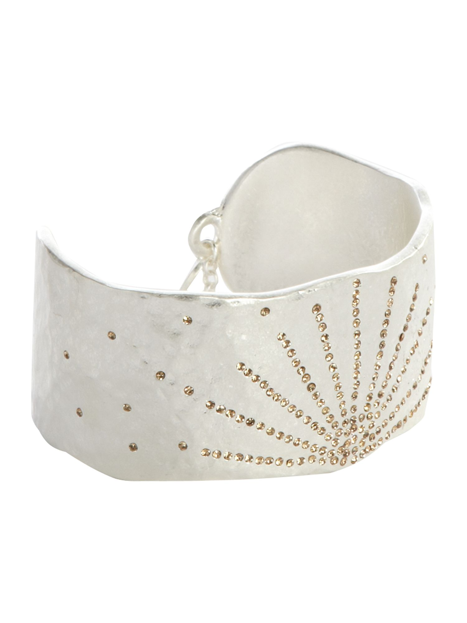 Pied a Terre Textured crystal cuff product image