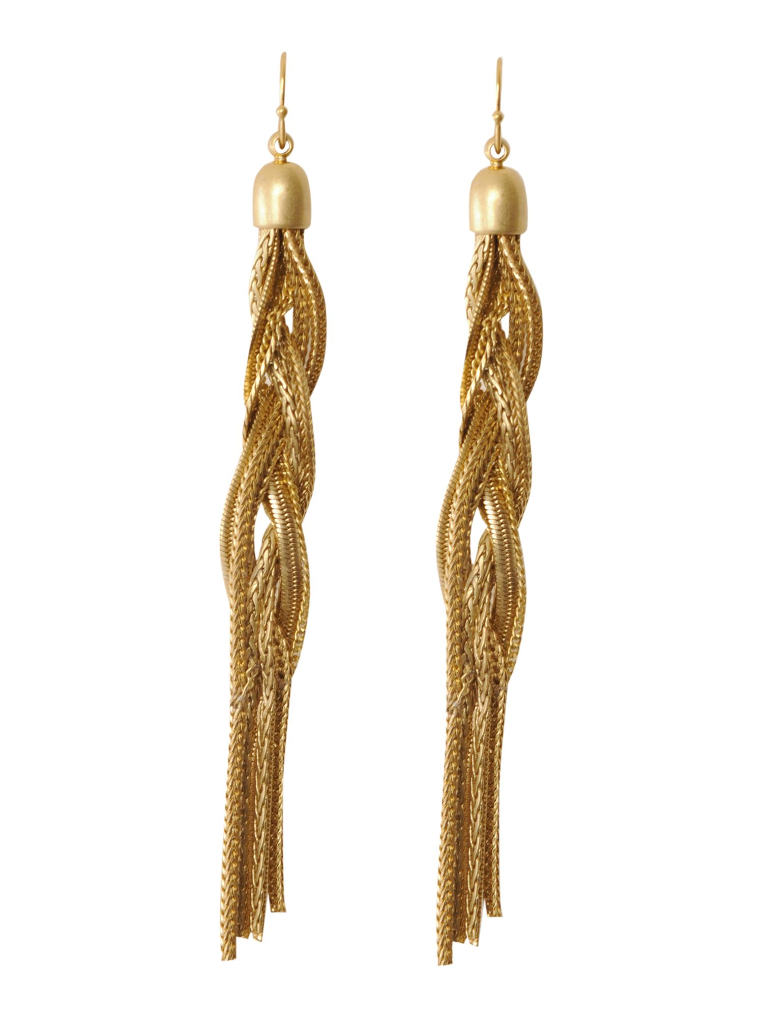 Episode Twisted chain drop earrings product image