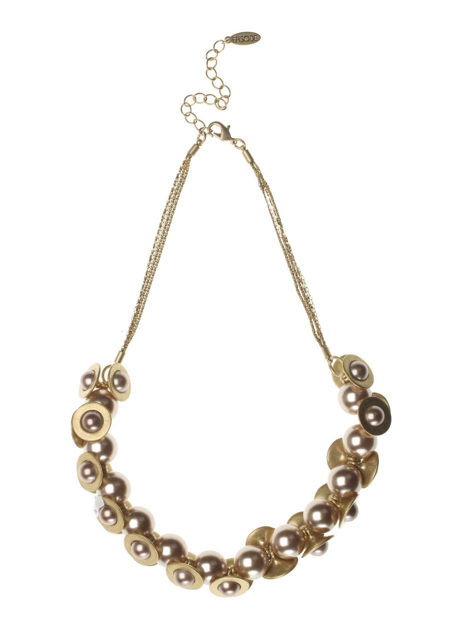 Episode Pearl cluster collar necklace product image