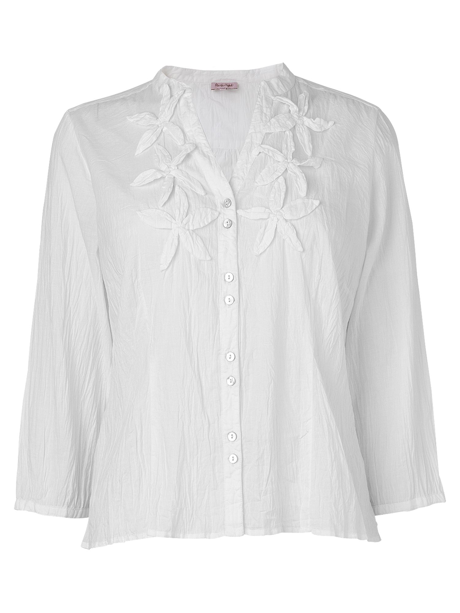 Phase Eight Womens Phase Eight Plain applique blouse, product image