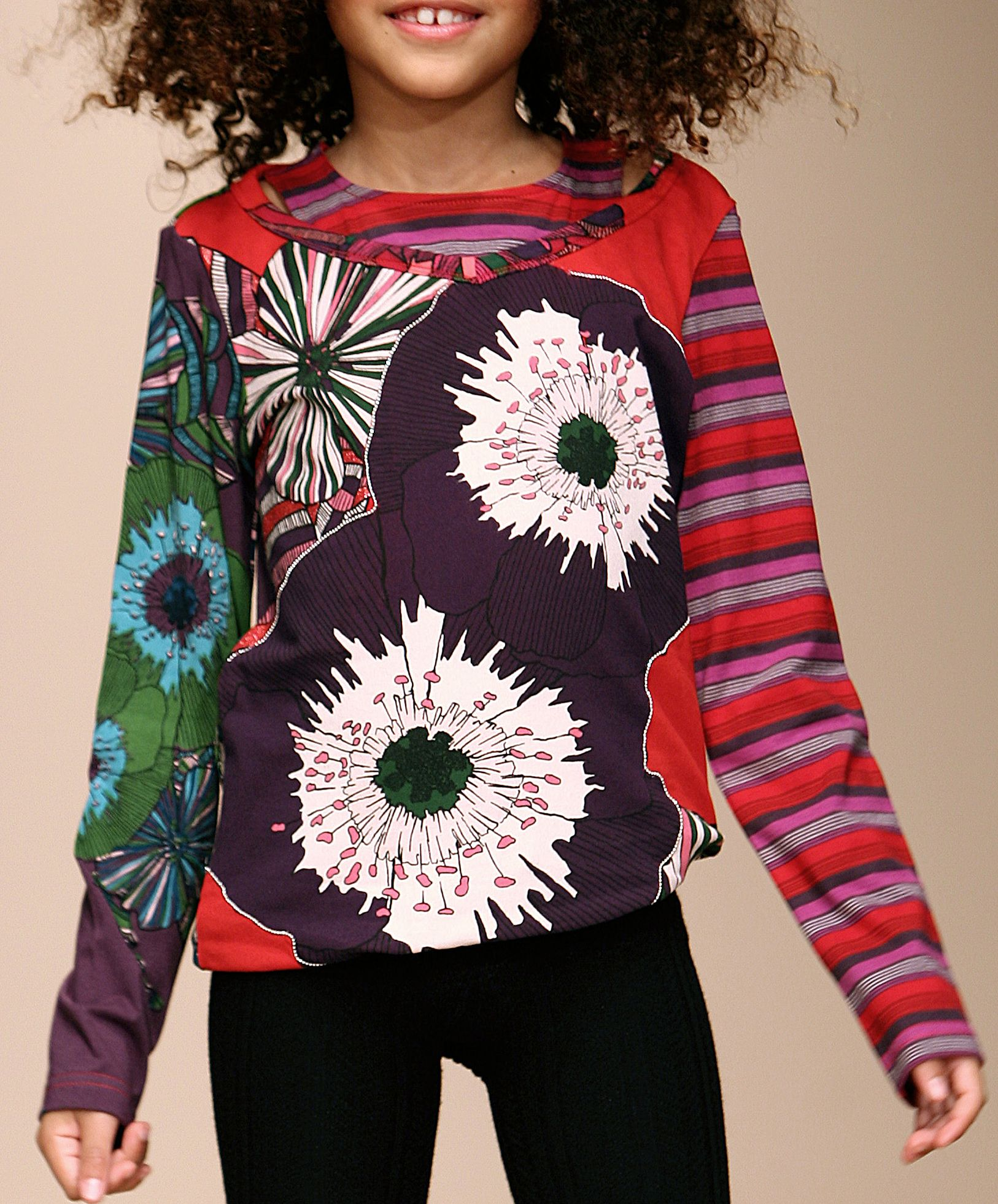 Desigual Flower T-shirt Red product image