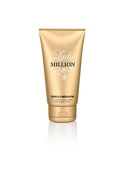 Lady million body lotion 150ml