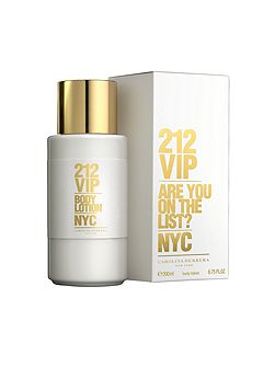 212 VIP body lotion 200ml