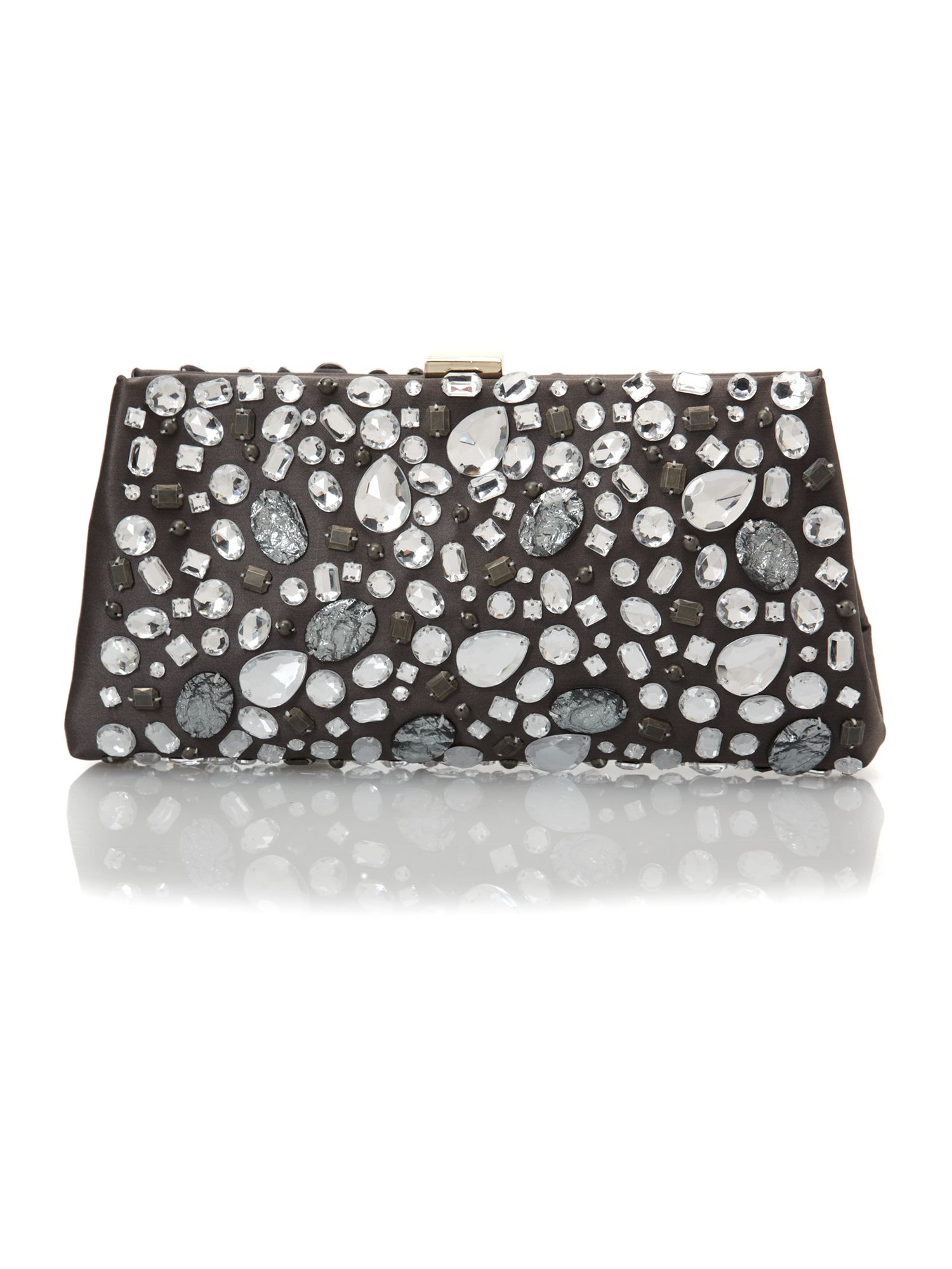 Beatrice jewelled clutch bag
