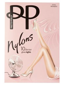 Pretty Polly 10 den nylon tights