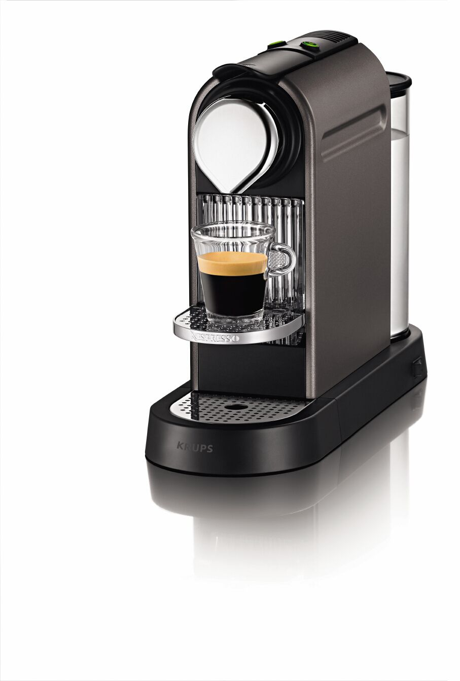 Titanium Citiz Nespresso Coffee Machine XN720T40