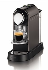 Krups Titanium Citiz Nespresso Coffee Machine XN720T40