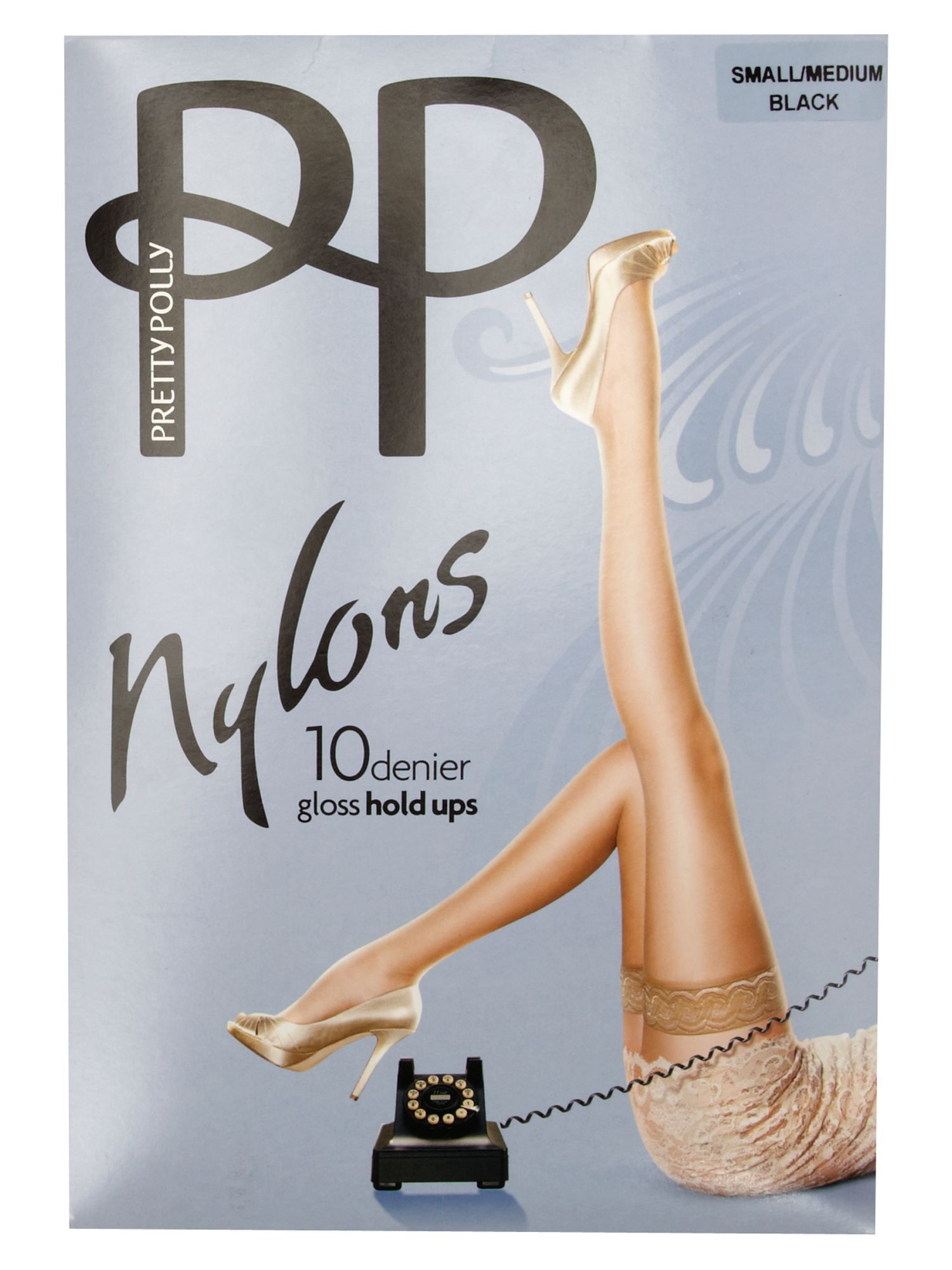 10 den nylon hold ups