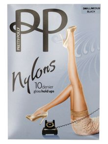 Pretty Polly Nylons 10 denier gloss hold ups