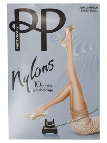 Pretty Polly 10 den nylon hold ups