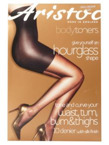 10 den hourglass tights