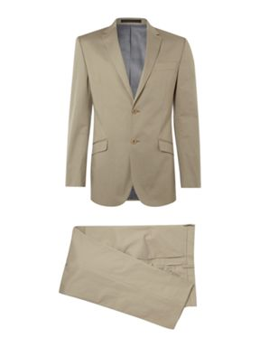 Kenneth Cole Cotton Sateen Suit