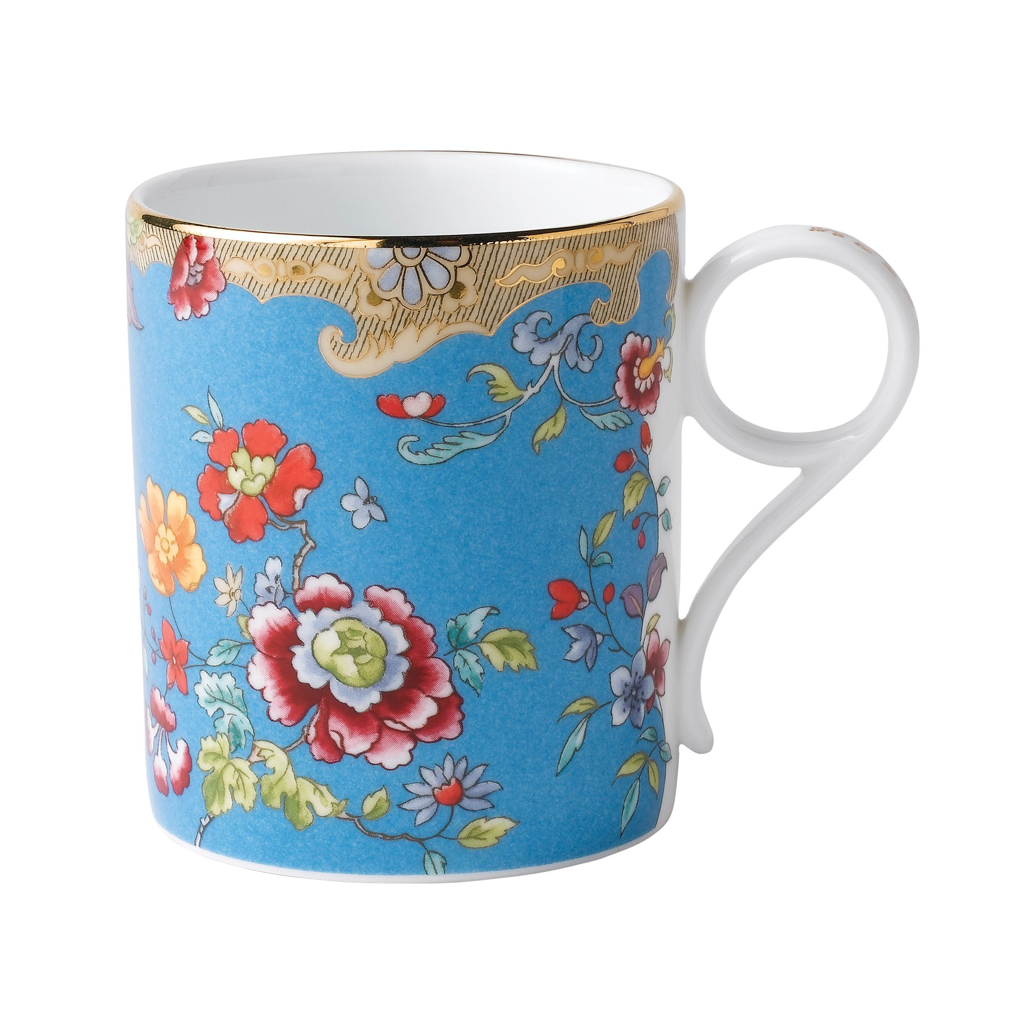 Archive Collection Turquoise Floral Mug