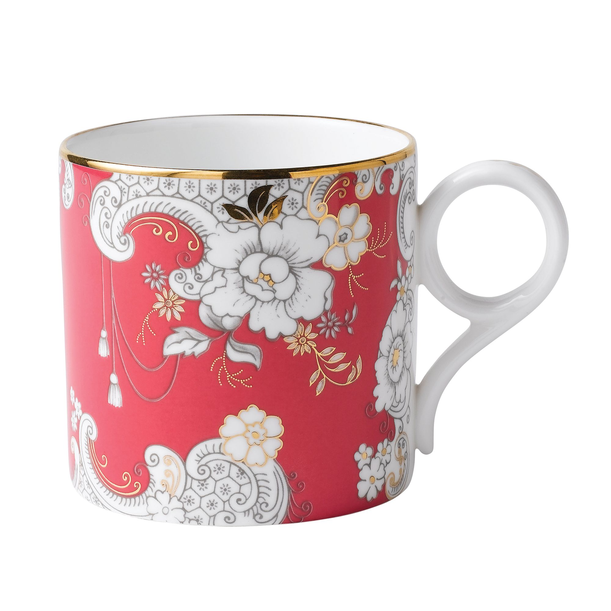 Archive Collection Pink Rococo Mug