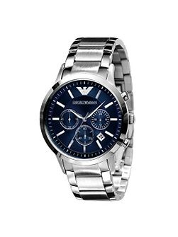 AR2448 Classic Silver Mens Bracelet Watch