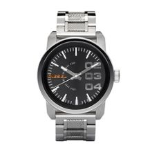Diesel DZ1370 DOUBLE dOWN silver men`s bracelet watch