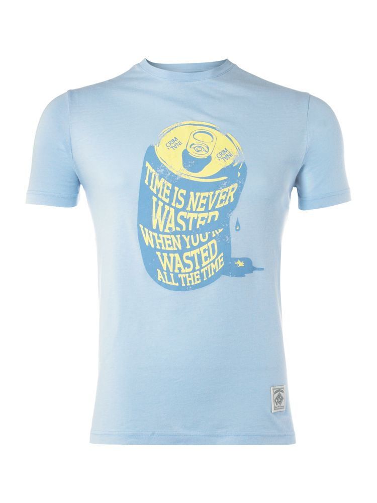 Criminal-Wasted-T-Shirt-In-Sky-Blue
