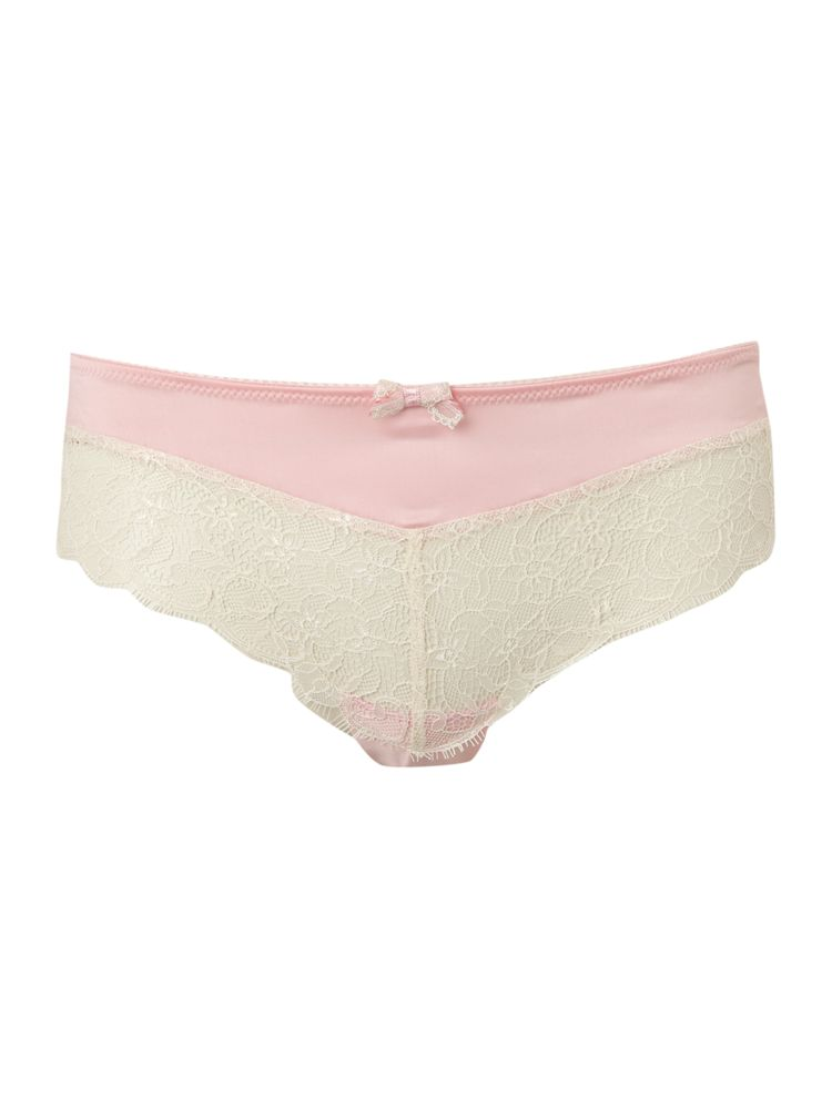 Therapy-Lace-Overlay-Hipster-In-Ivory-From-House-of-Fraser