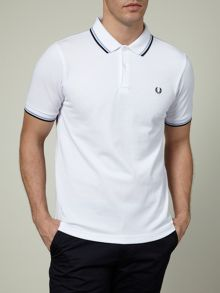 Slim Fitted Twin Tipped Polo Shirt