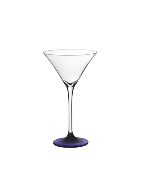 LSA Coro berry cocktail glasses x 4