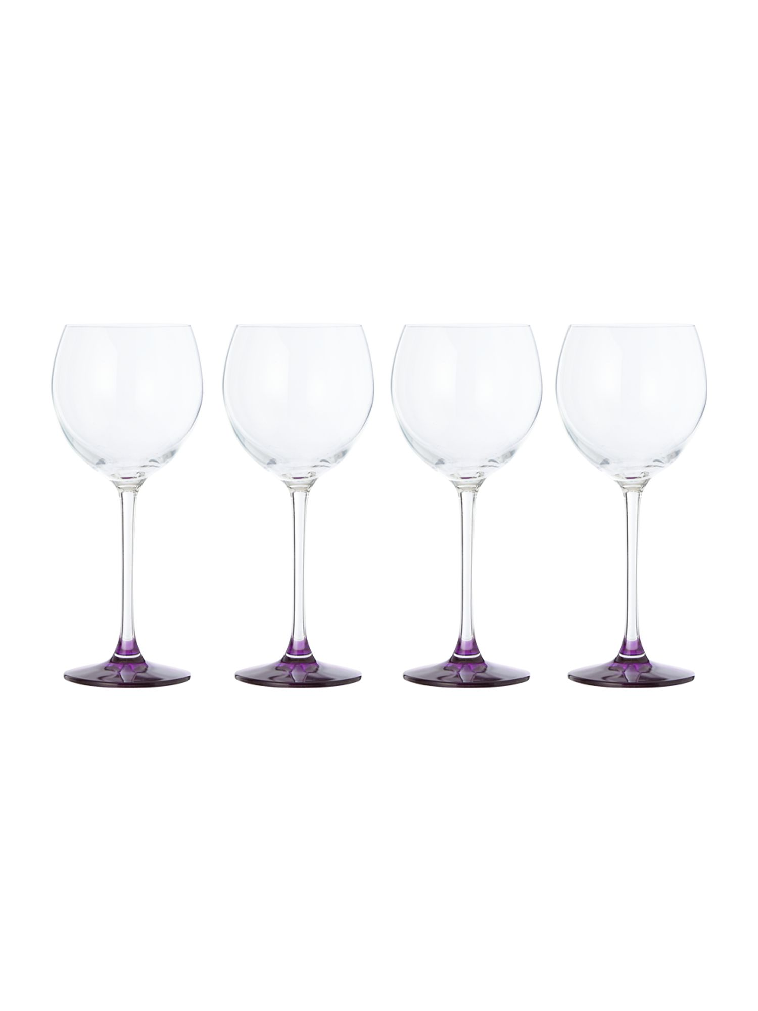 Coro berry wine glass x 4
