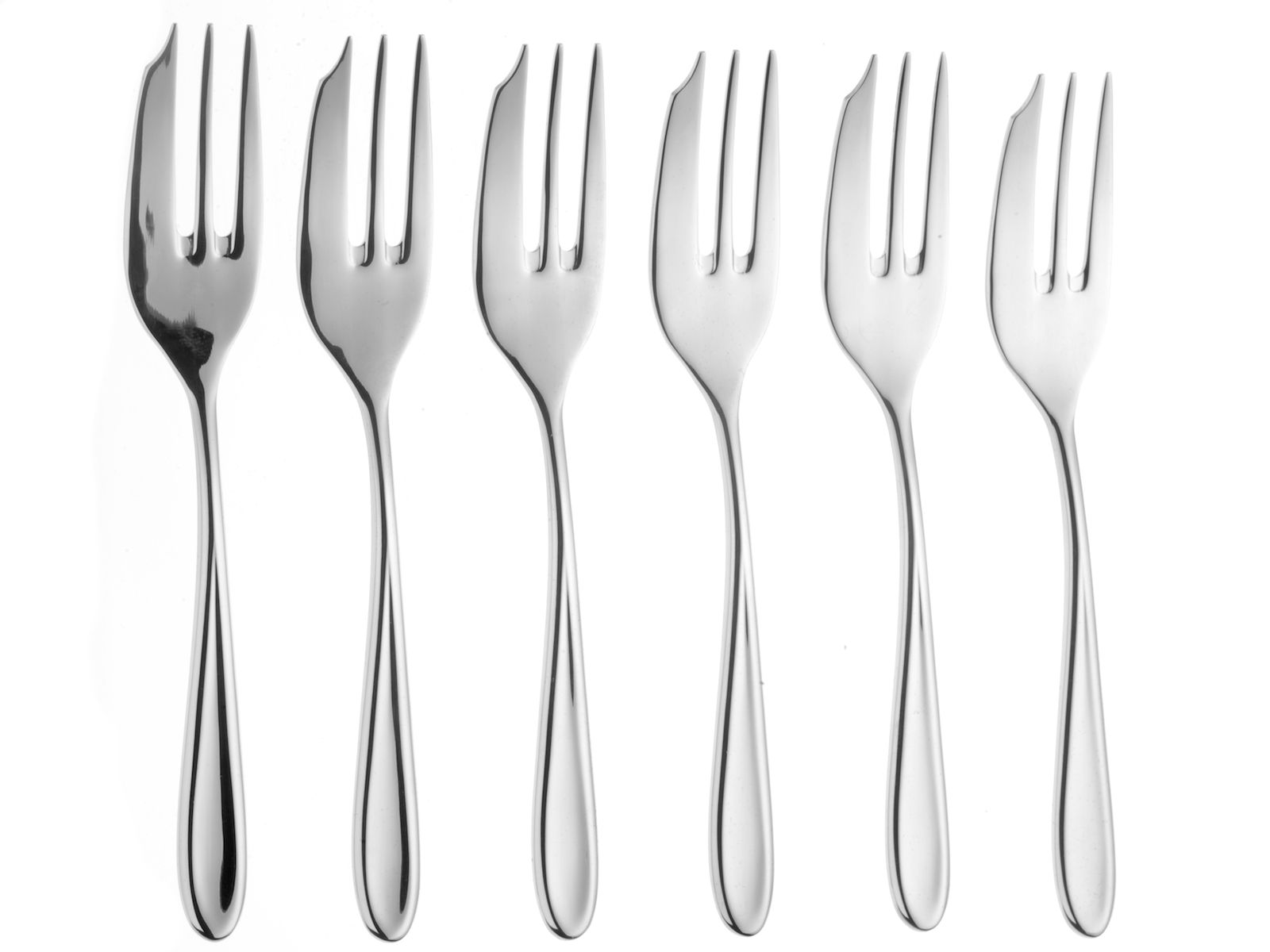 Sophie Conran 6 stainless steel pastry forks