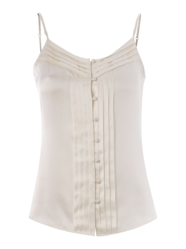 Biba-Pin-Tuck-Silk-Camisole-In-Ivory
