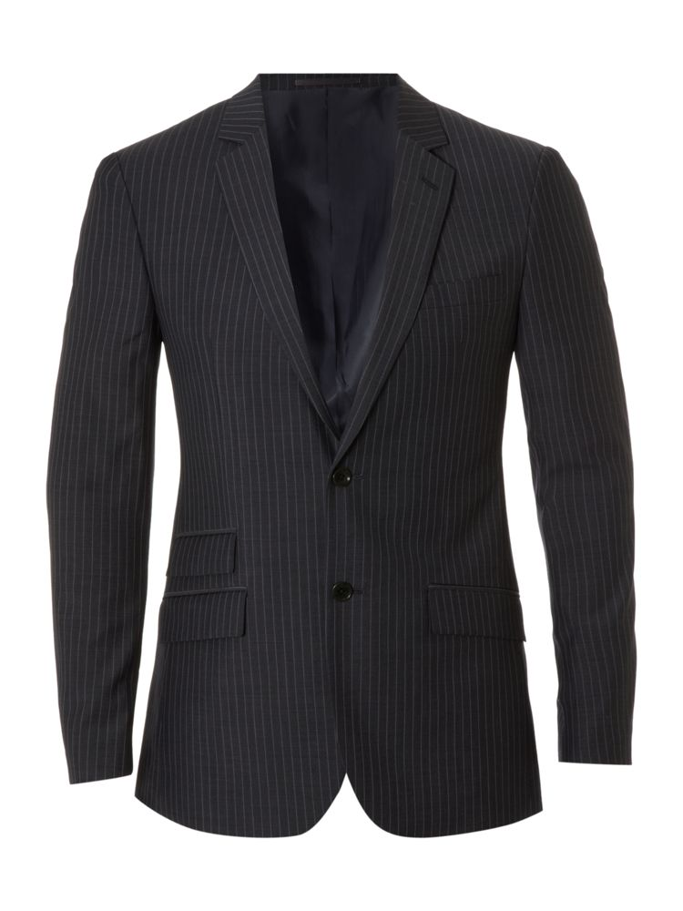 Kenneth-Cole-Pinstripe-Formal-Jacket-In-Charcoal