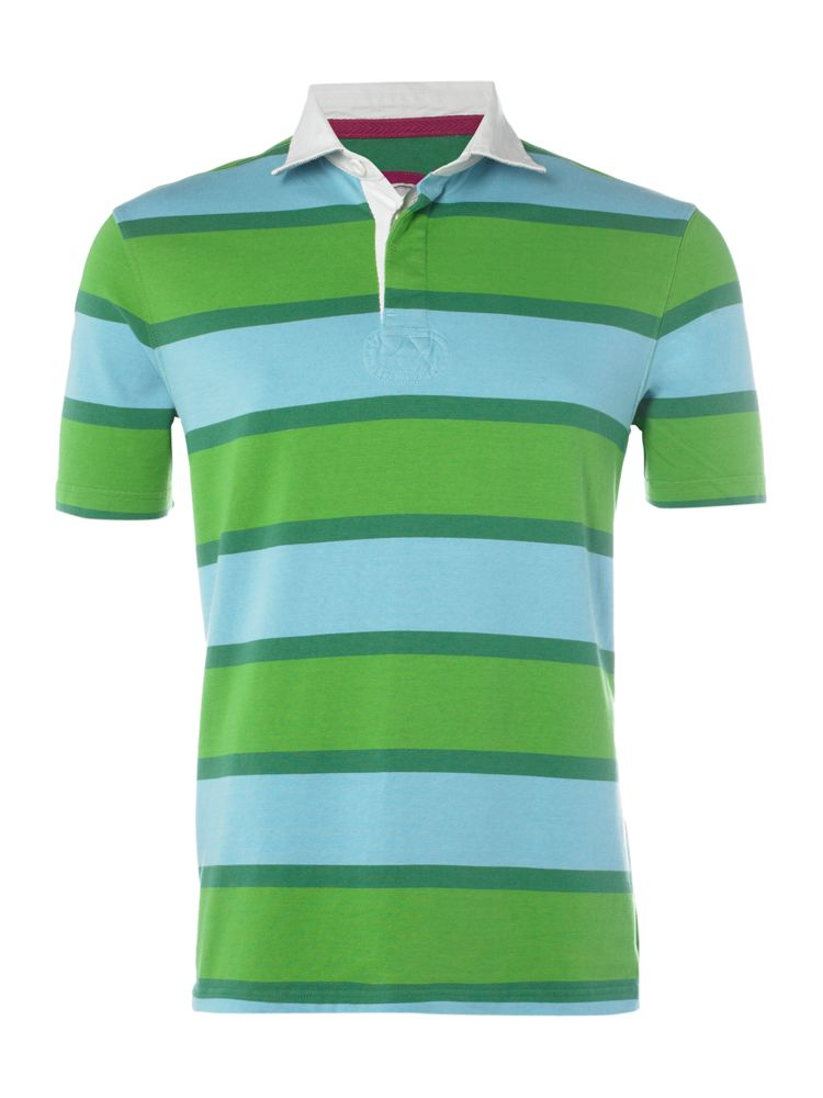 Howick-Short-Sleeve-Mens-Polo-Shirt-Navy-Green-Pink-Yellow