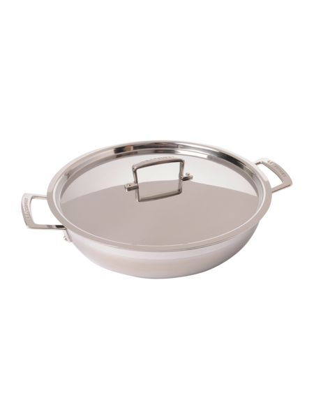 Le Creuset 3 Ply Stainless Steel 30cm Shallow Casserole
