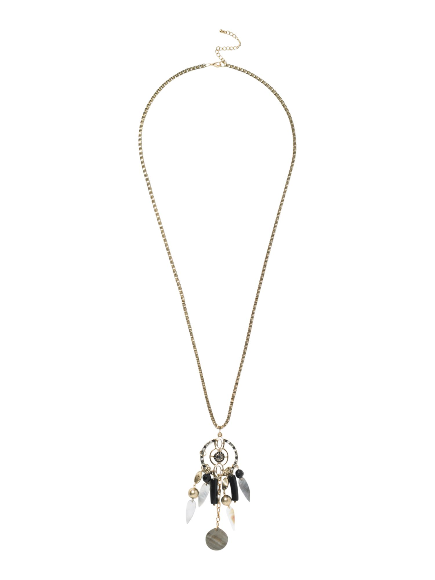 Label Lab Tribal charm necklace