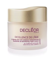 Decléor Excellence De L`Age Re-Densifying Night Cream
