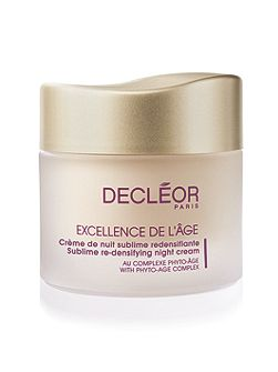 Excellence De L`Age Re-Densifying Night Cream