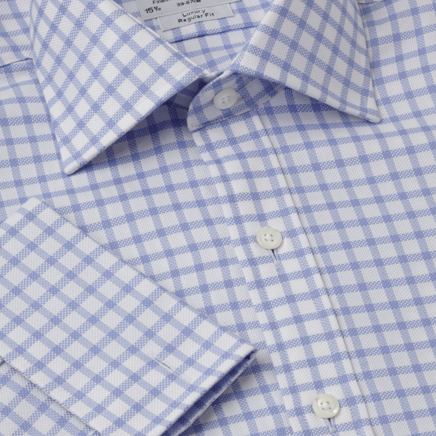 Check Oxford Prince of Wales shirt