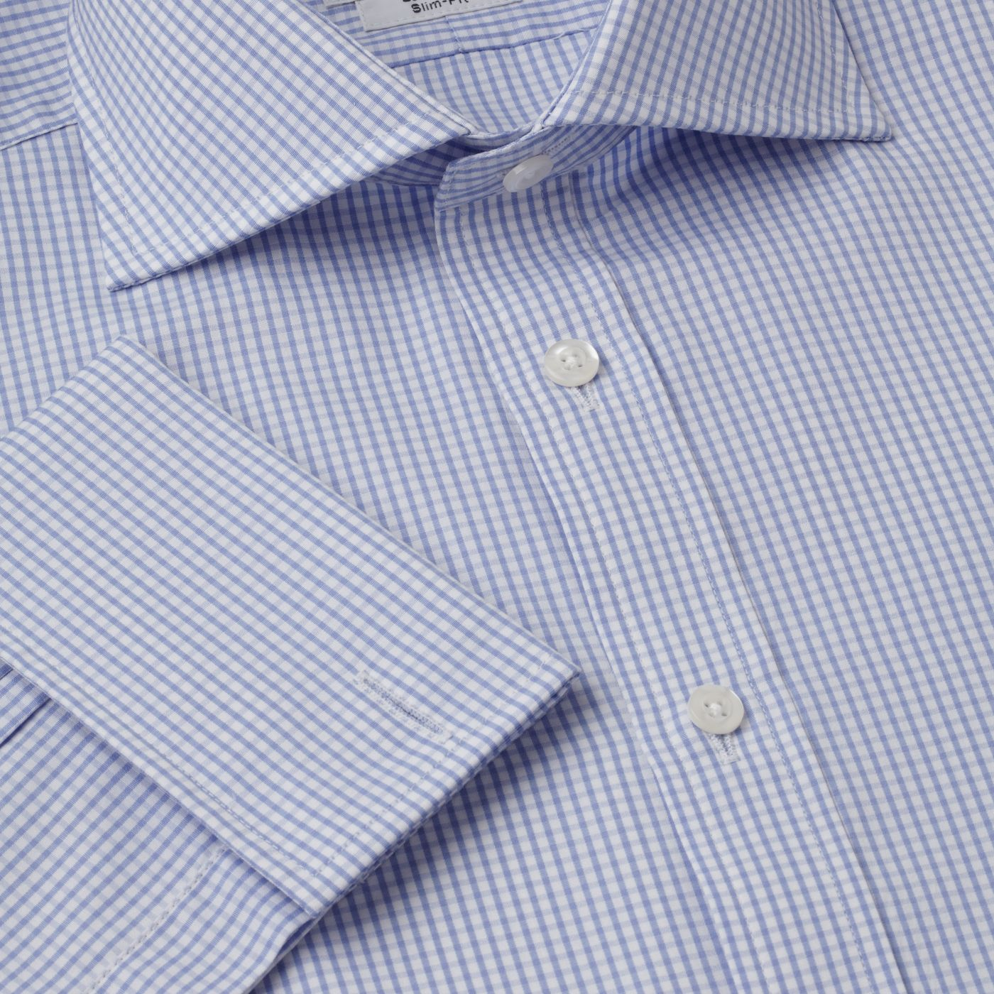 Gingham Windsor shirt