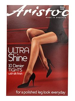 Ultra shine 10 denier hold ups