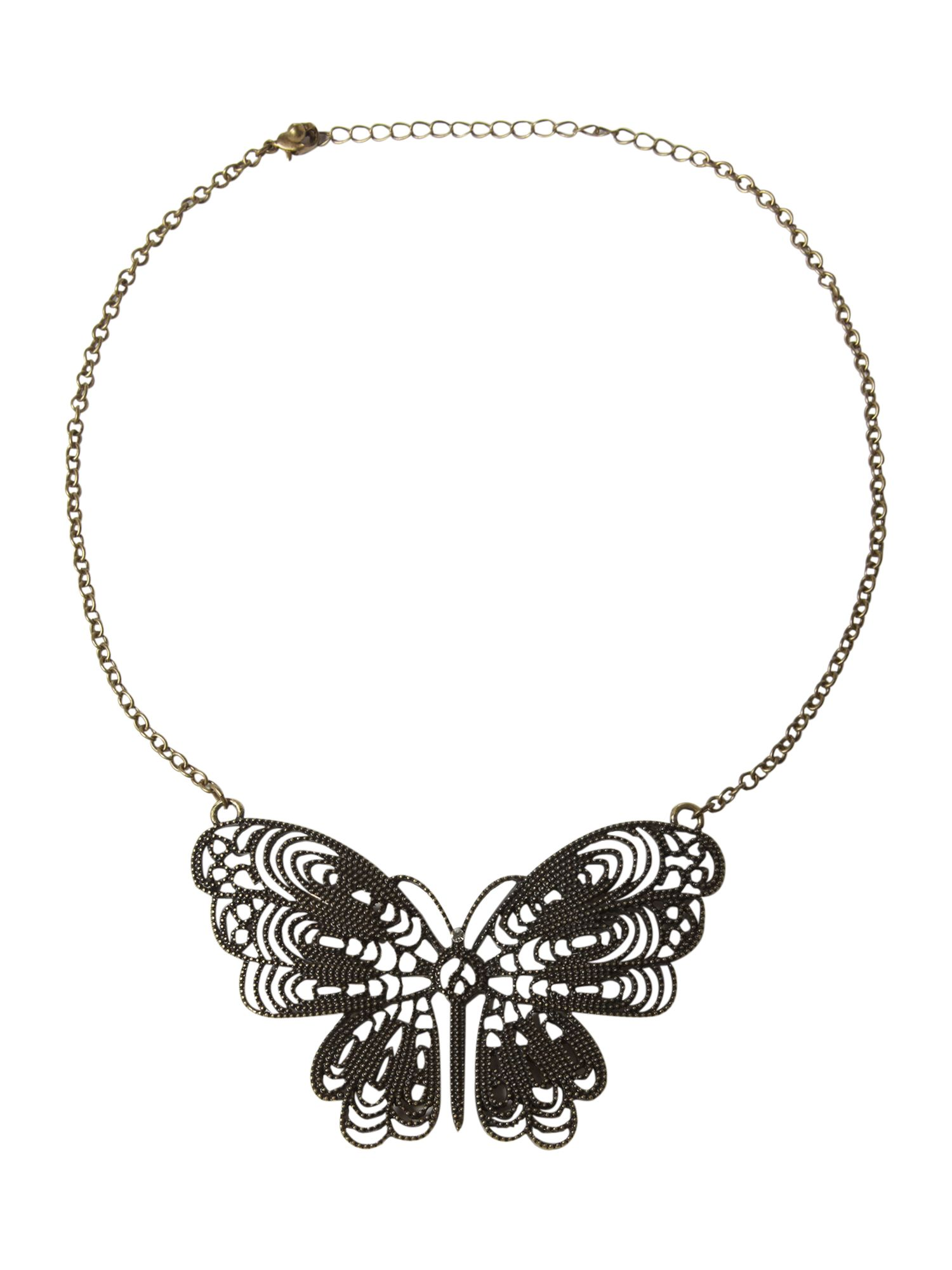 Therapy Butterfly necklace