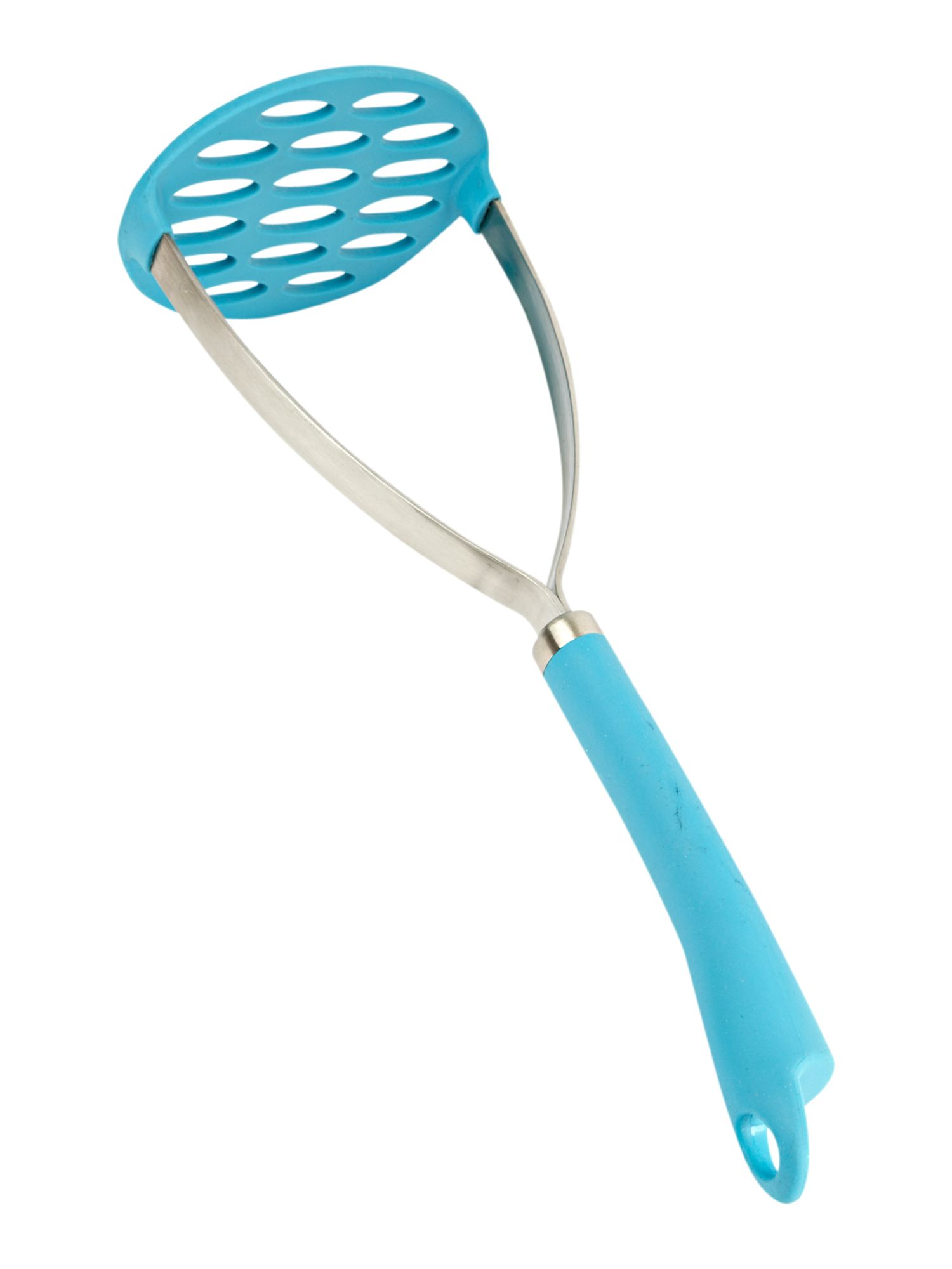 Colourworks blue silicone masher