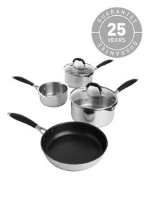 Cook 4 piece pan set