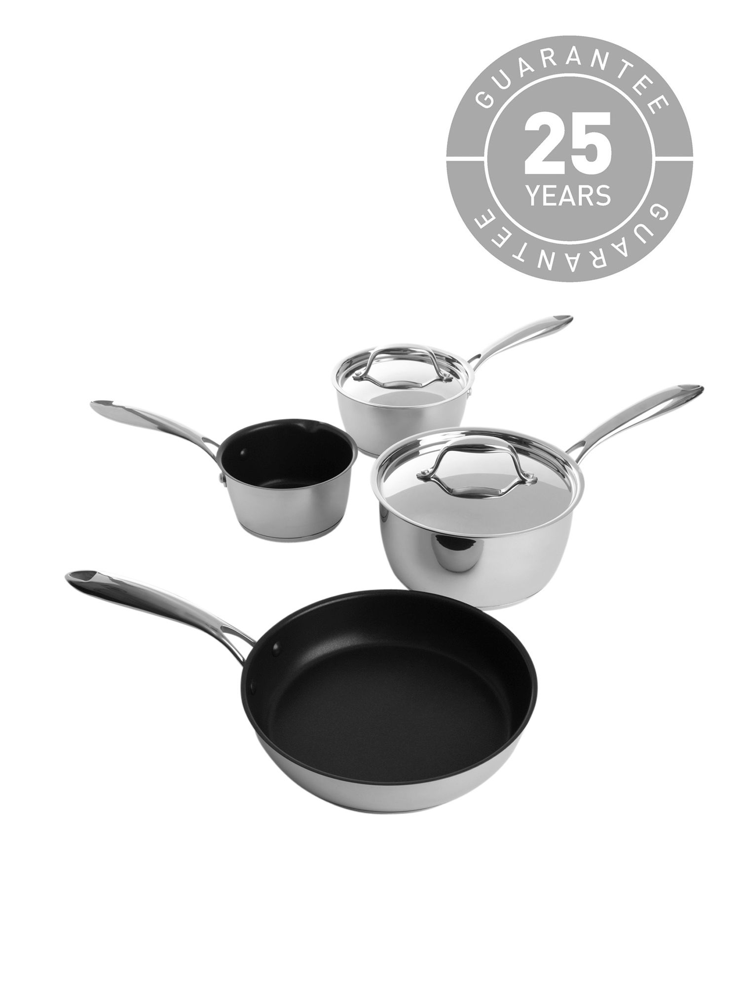 Connoisseur 4 piece pan set