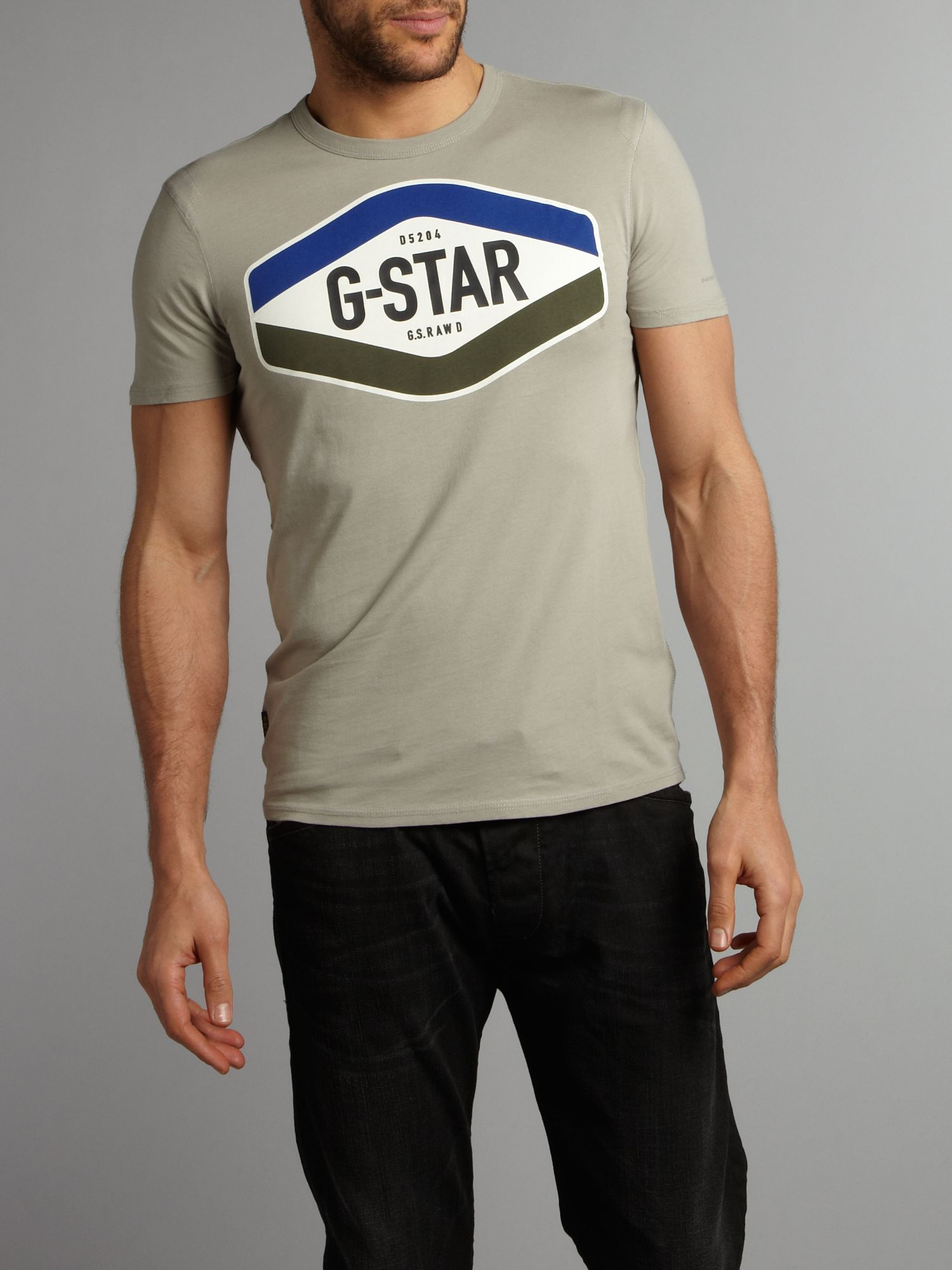 G-Star Dial logo short sleeved t-shirt - Blue product image