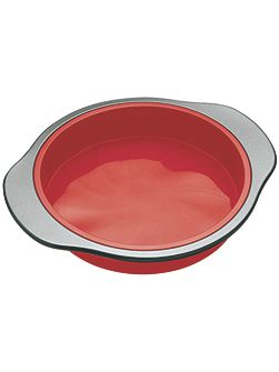 Smart silicone round cake pan