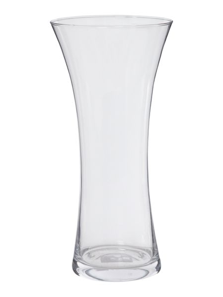 Linea Waisted vase clear