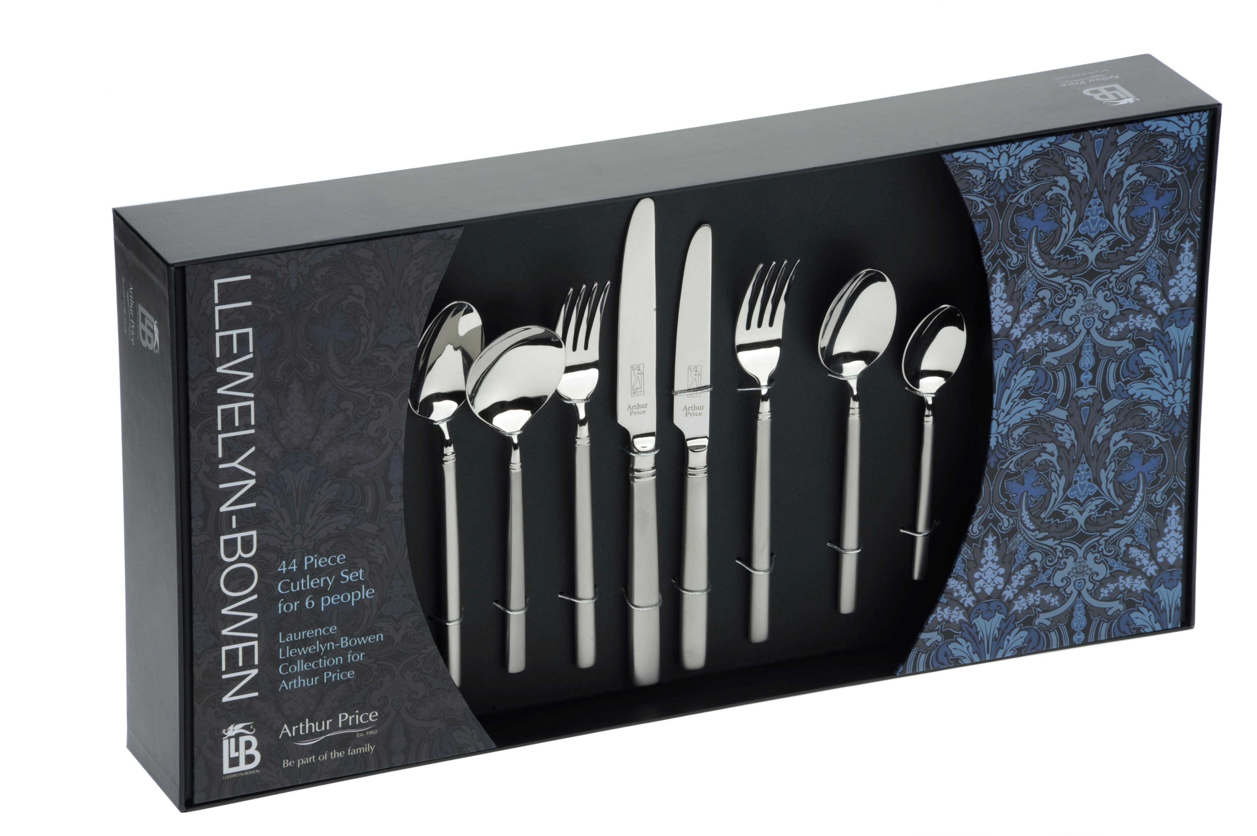 Orb 44 piece boxed cutlery set